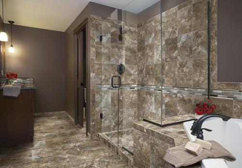 glass and metal mosaic tile at menards