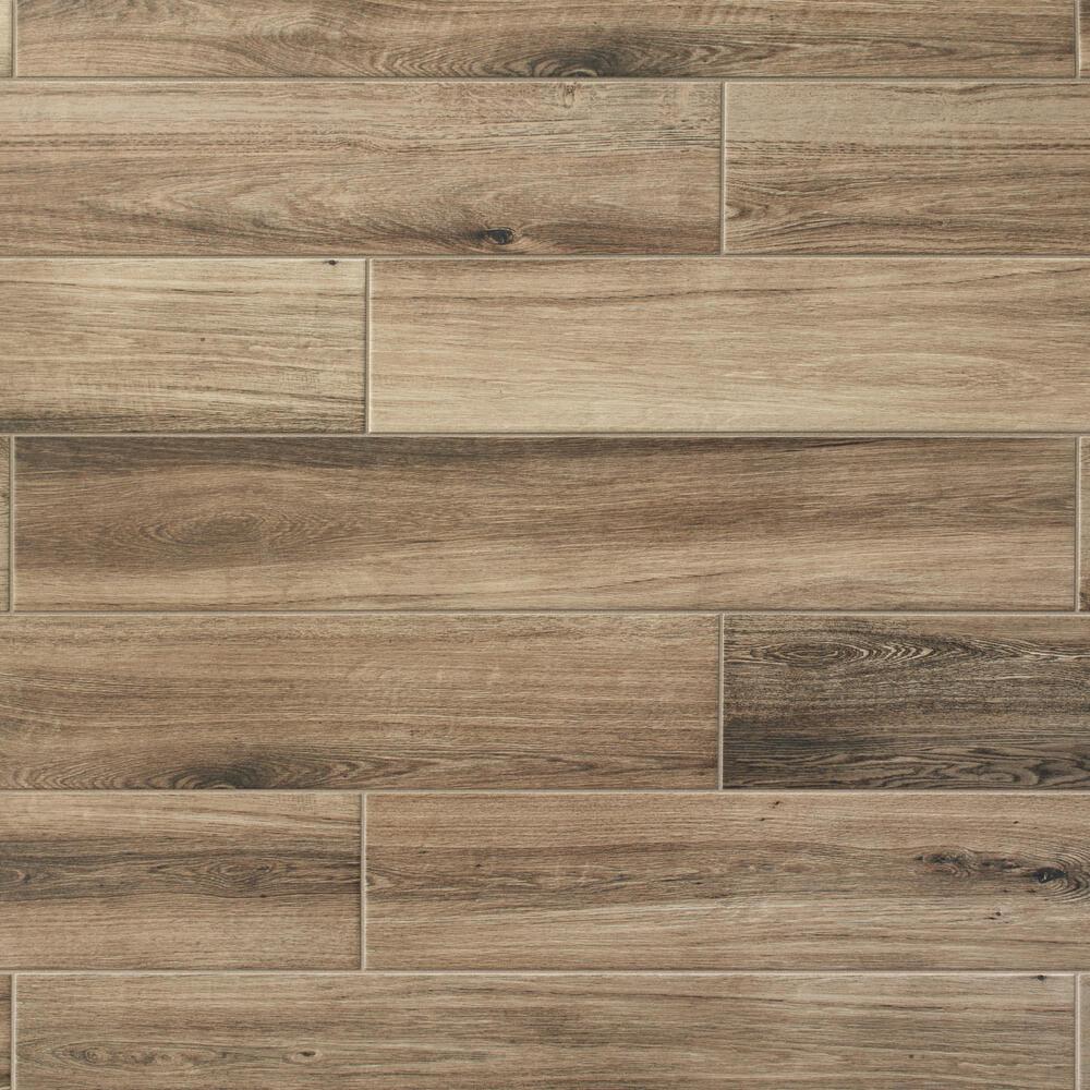 6 x 36 locking porcelain floor tile at