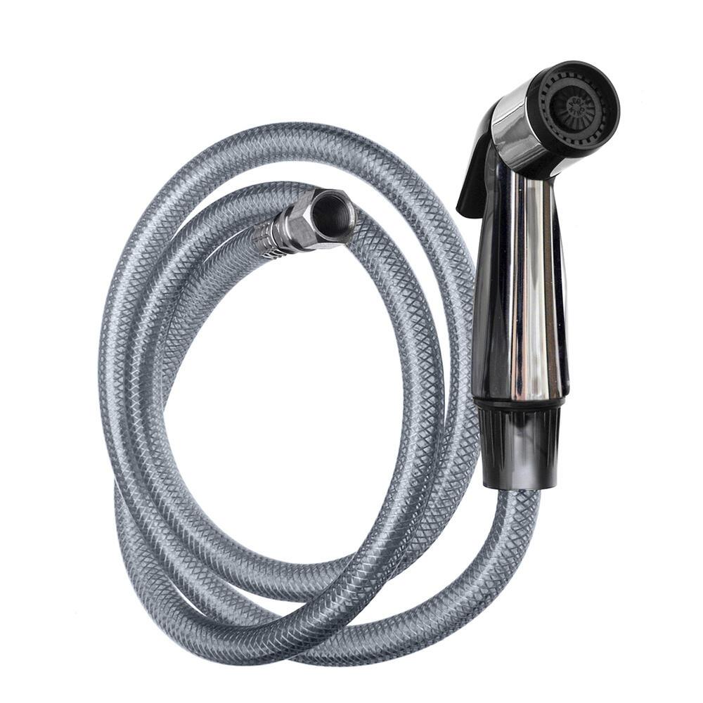 chrome kitchen sink sprayer kit at