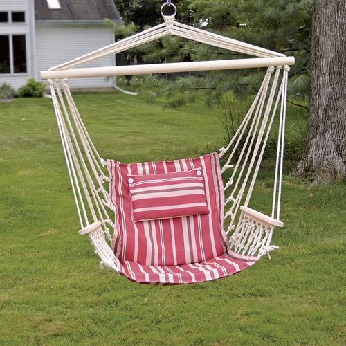 hanging hammock chair jumbo bean bag backyard creations assorted colors at menards