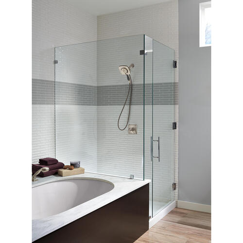 one handle 2 spray shower faucet