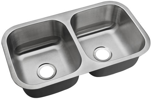 menards kitchen sink facets tuscany undermount 31 stainless steel double bowl at