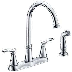 Menards Kitchen Faucets Plumbing Tuscany Marianna Two Handle Faucet At