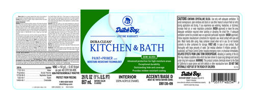 Dutch Boy Dura Clean Kitchen & Bath Interior Acrylic