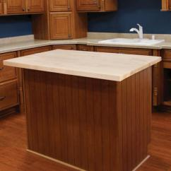 Menards Kitchen Countertops Antique Island Butcher Block Top 25 Wide X 48 Long 1 5 Thick At All Laminate