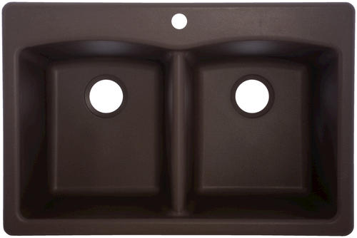 menards kitchen sink best tile for floor franke dual mount 33 granite 1 hole double bowl at