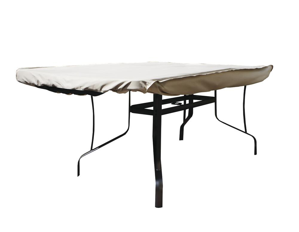deluxe rectangle oval patio table cover