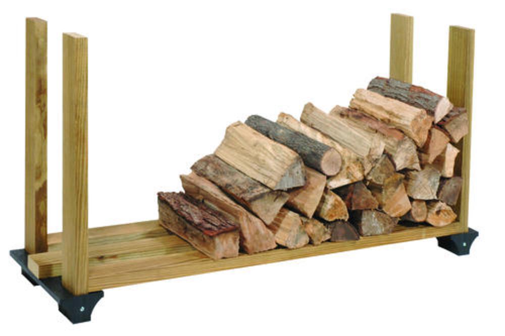 96 firewood log rack at menards