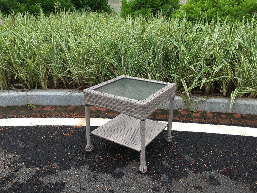 stratton patio end table at menards