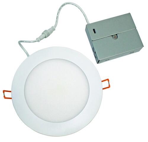 microdisk 6 led recessed white ultra