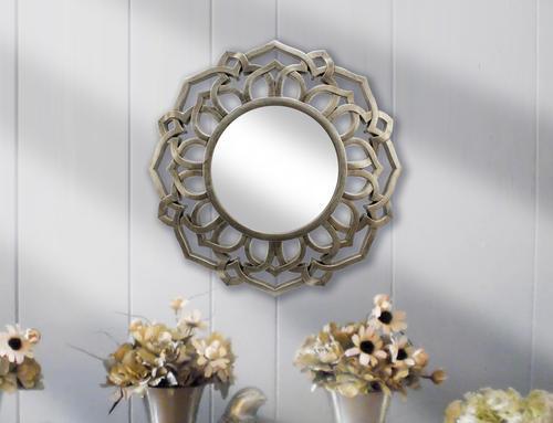 "24"" Royston Round Wall Mirror At Menards®"