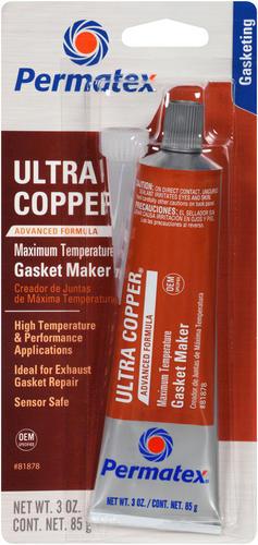 permatex ultra copper silicone gasket
