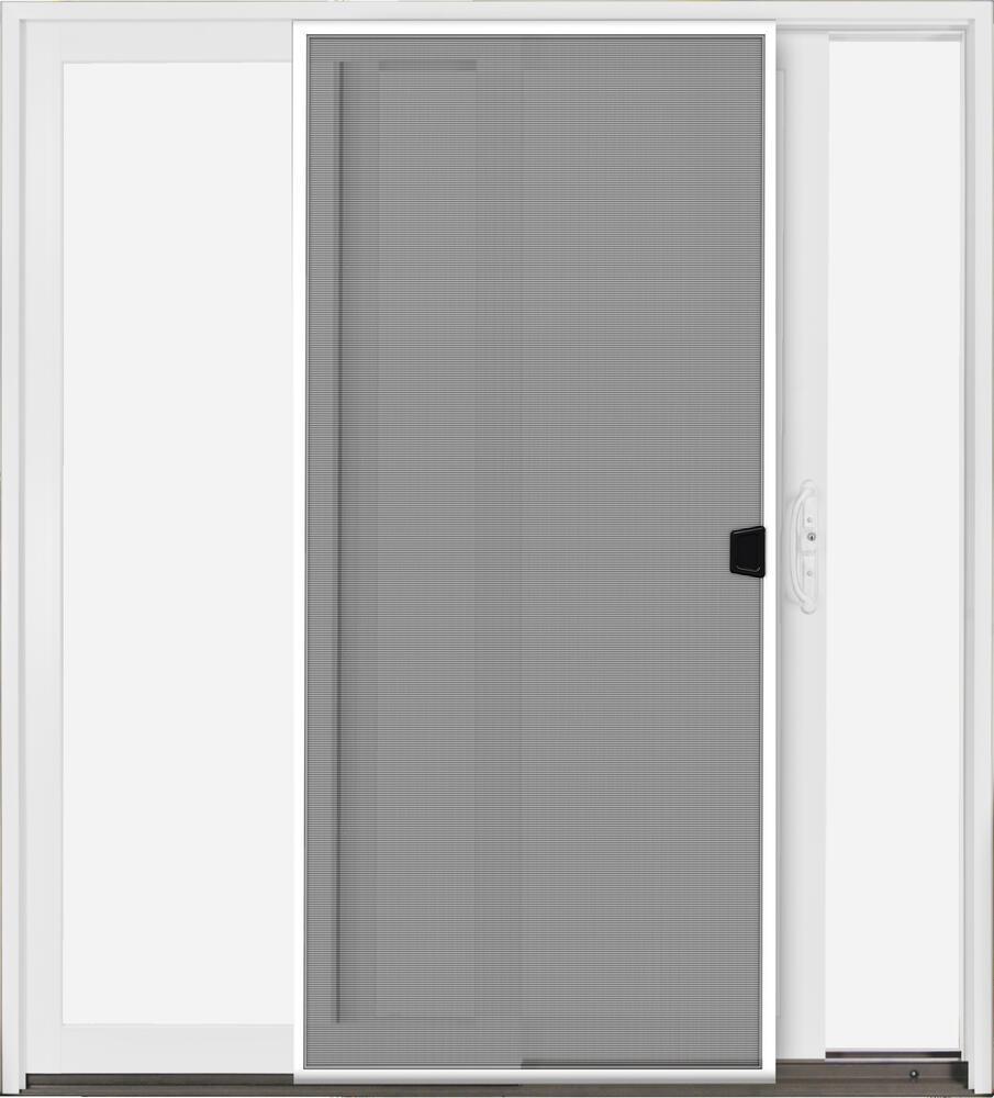 aluminum clad sliding patio door
