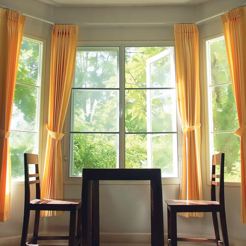 kenney bay window curtain rod at menards