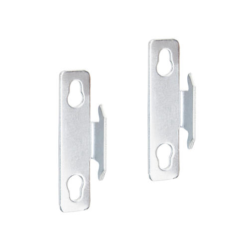 single curtain rod mounting brackets at