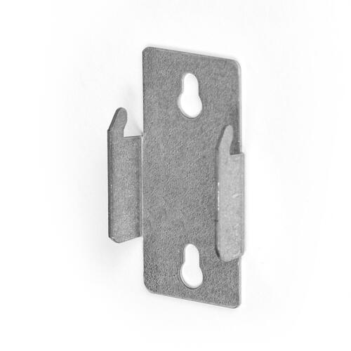 double curtain rod mounting brackets at