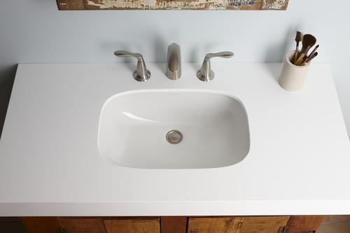 d rectangle undermount bathroom sink