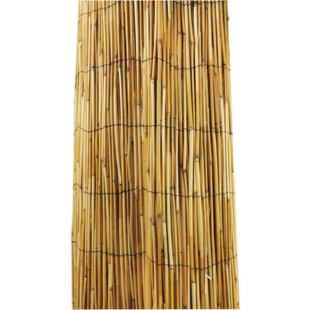 vigoro 6 ft h x 16 ft w natural reed