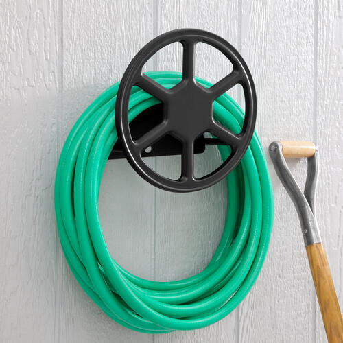 Liberty Garden 125 Ft Spoke Wall Mount Hose Hanger At Menards
