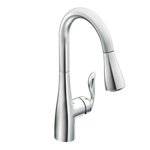 one handle pull down kitchen faucet