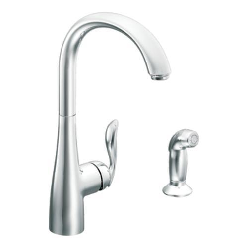 moen arbor one handle kitchen faucet