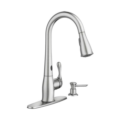 stainless kitchen faucet at menards