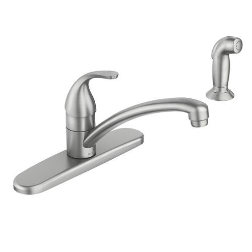 moen adler one handle kitchen faucet