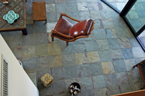 12 slate floor and wall tile at menards