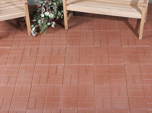 """12"""" x brickface patio block"""