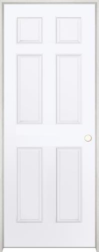 Rough Opening For 28 Inch Interior Door : rough, opening, interior, Mastercraft®, Brite, White, 6-Panel, Interior, System, Menards®