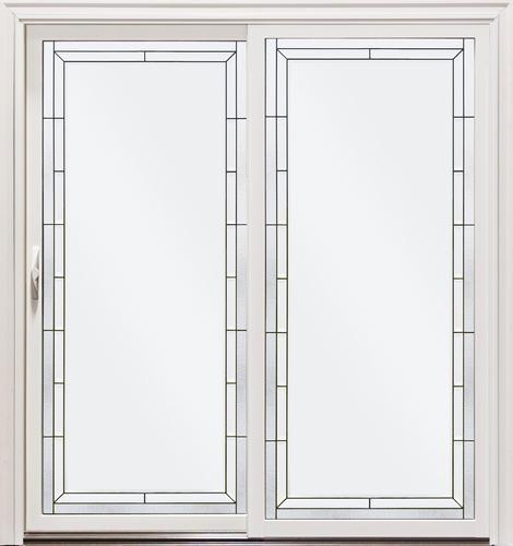 aluminum clad low e sliding patio door
