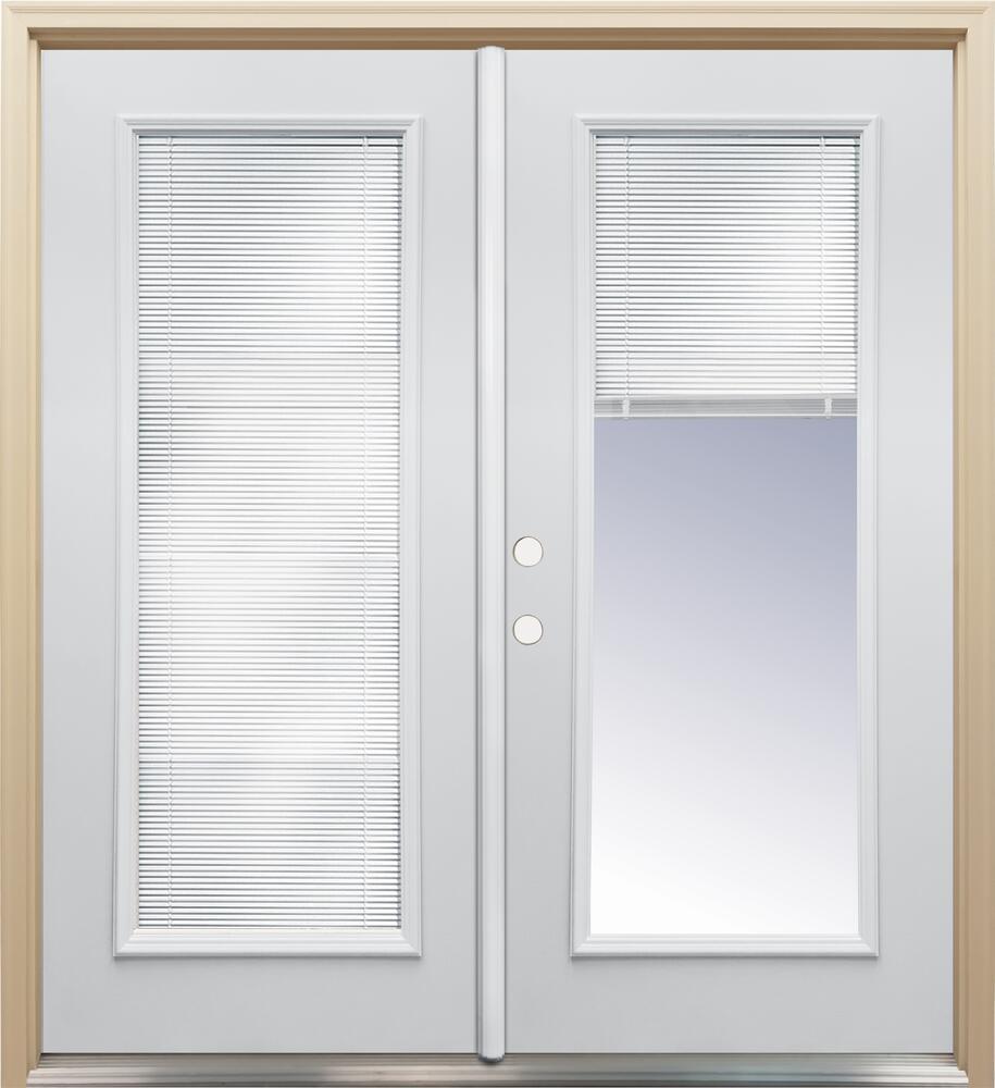 internal blinds french patio door