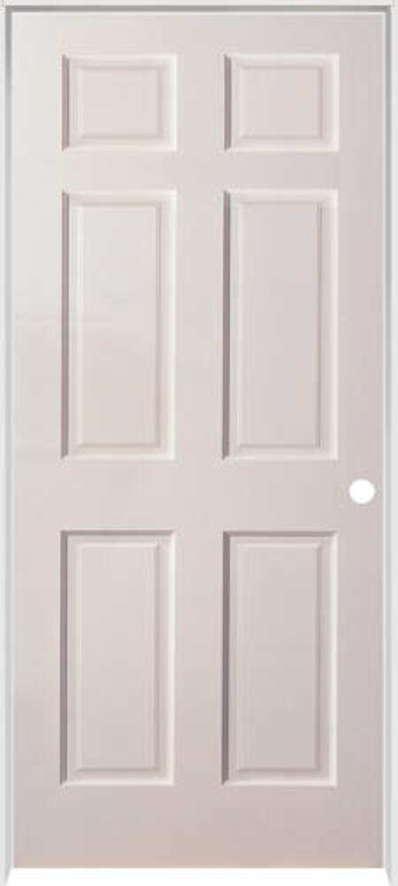 Rough Opening For 28 Inch Interior Door : rough, opening, interior, Mastercraft®, Duracore®, Primed, Smooth, 6-Panel, Interior, System, Menards®