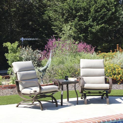 backyard creations cabot beige 3 piece