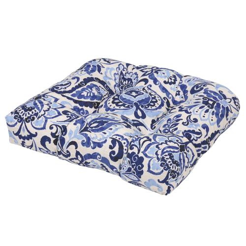 lafayette floral patio seat cushion at