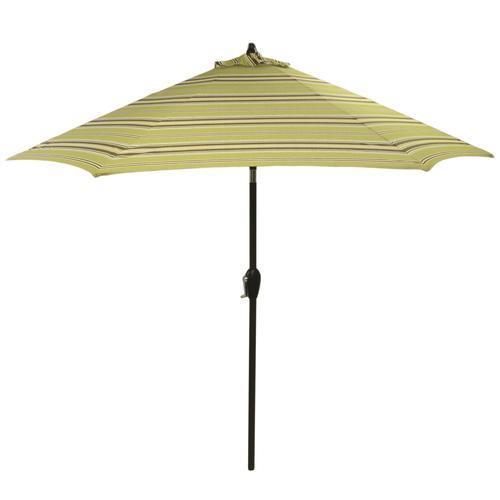Backyard Creations 9 Monroe Stripe Patio Market Umbrella at Menards