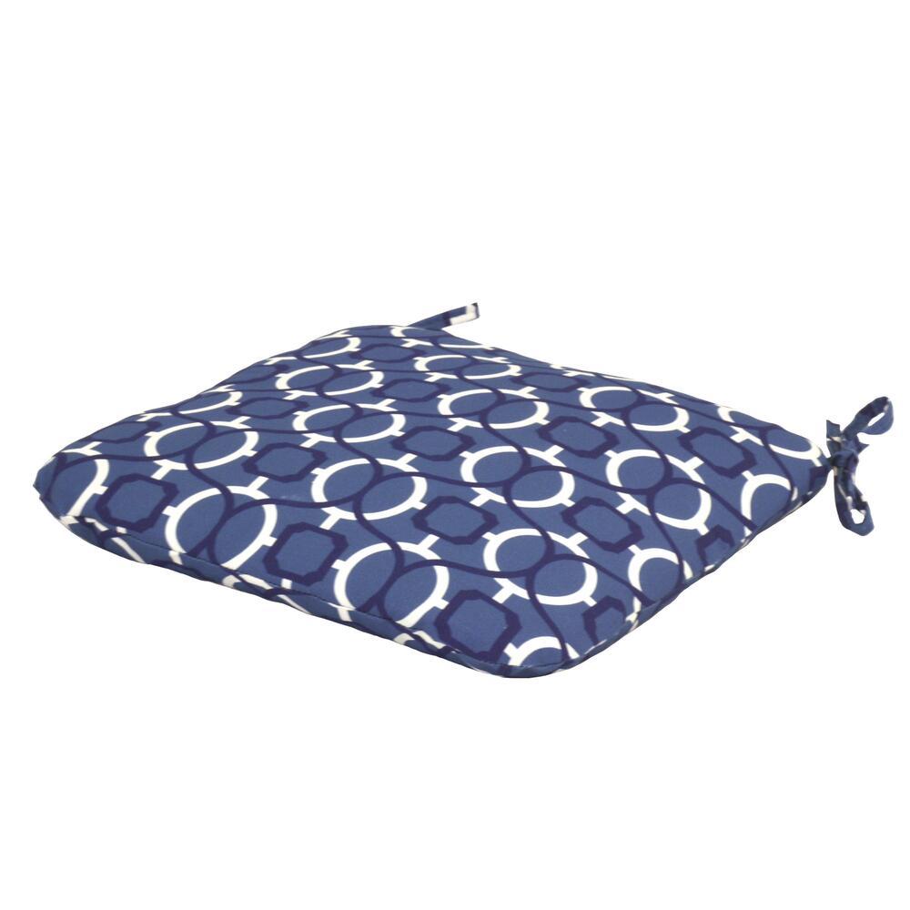 lafayette geo patio seat cushion at