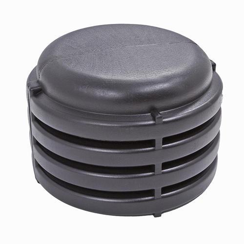 corrugated culvert external end cap at