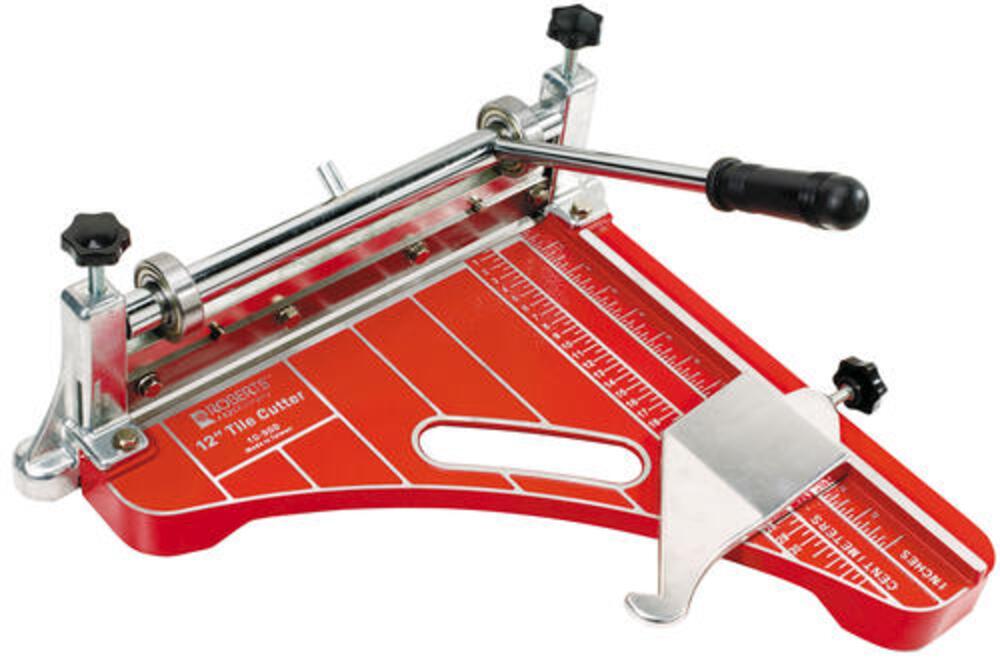 roberts 12 vinyl tile cutter at menards