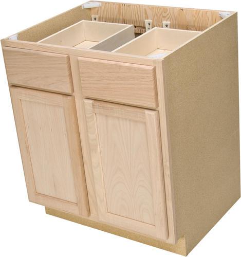 double kitchen base cabinet at menards