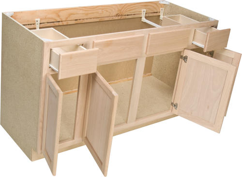 """Quality One™ 60"""" X 34 1 2"""" Sink Base Cabinet At Menards®"""
