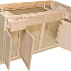 Kitchen Base Cabinet Decorating Quality One 60 X 34 1 2 Sink At Menards