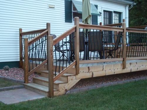Vista Tuscany 6 Stair Deck Railing Kit Clear Western | Outdoor Stair Railing Menards