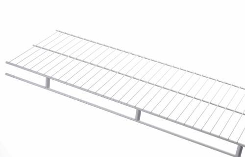 Rubbermaid® Wardrobe White Wire Shelf at Menards®