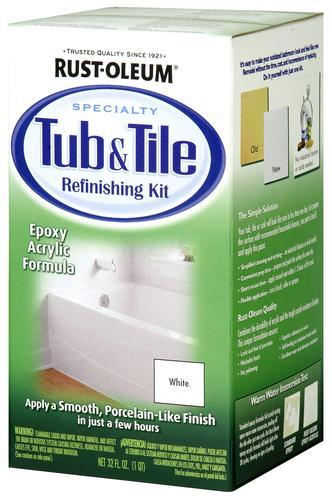 specialty tub tile refinishing kit