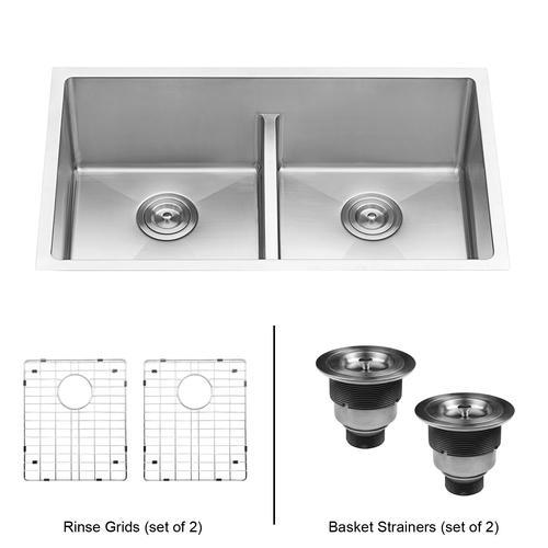 ruvati undermount 30 stainless steel