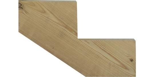 Ac2® Ground Contact Green Pressure Treated Stringer At Menards® | Pressure Treated Stair Treads | Live Edge | Outside | Picture Frame | Step | Unsafe