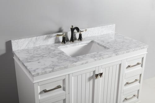 22 carrara marble vanity top