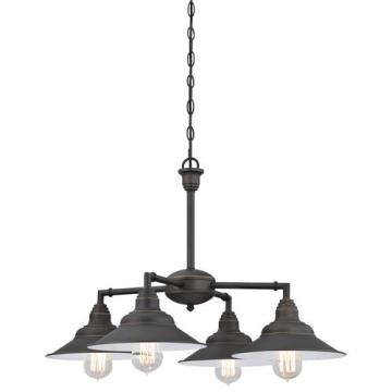 Westinghouse Deansen 4 Light Oil Rubbed Bronze Chandelier At MenardsR
