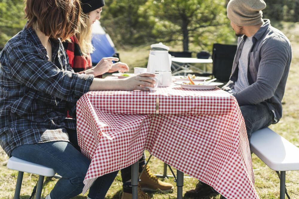 stansport 54 x 72 picnic tablecloth